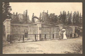 Carte Neurdein ND 207: Québec - Les Chutes de Montmorency, une Cage du Jardin Zoologique Holt Renfrew.