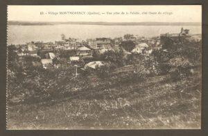 Partie ouest de Montmorency, dans un album de cartes postales présentant diverses scènes du village de Montmorency, publié en 1929 pa E. Alexandre Masselotte.