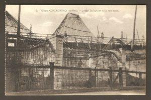 Le jardin zoologique Holt Renfrew dans un album de cartes postales présentant diverses scènes du village de Montmorency, publié en 1929 pa E. Alexandre Masselotte.