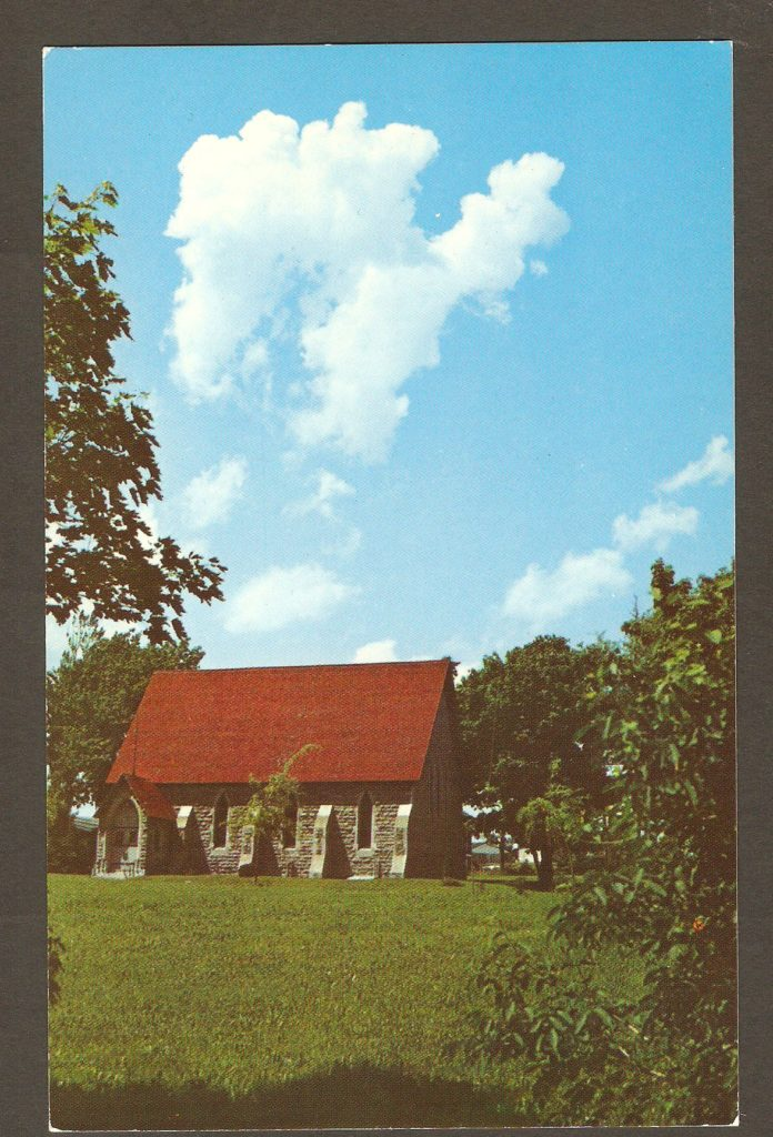 Carte postale - Chapelle Saint Mary - Domaine chute Montmorency vers 1965
