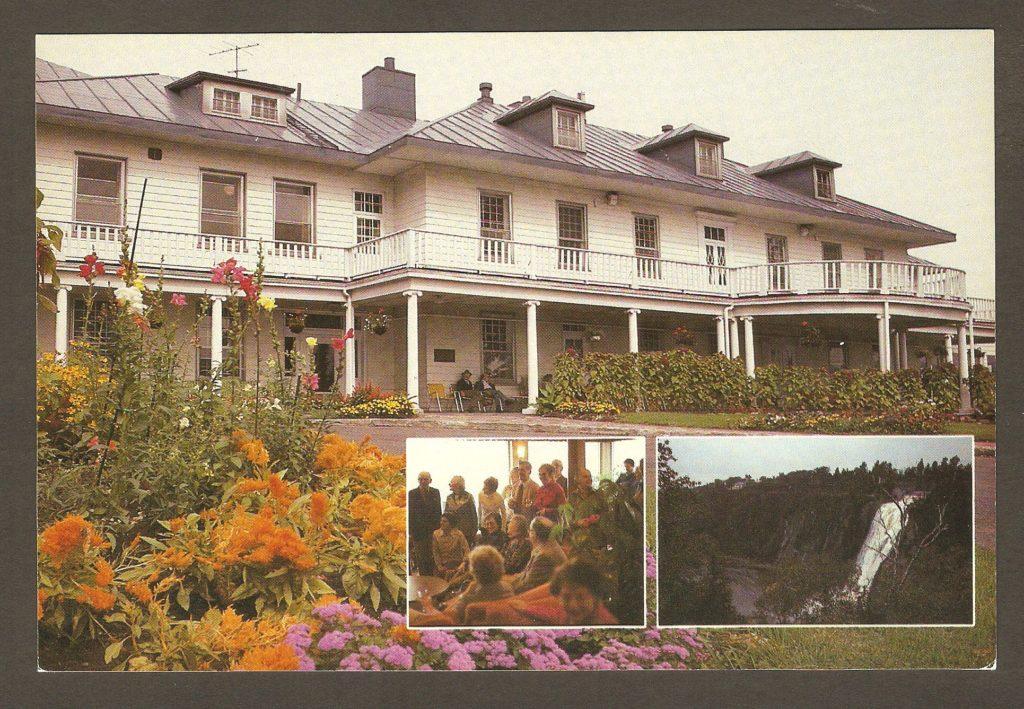 Carte postale - Manoir Montmorency à Courville vers 1980