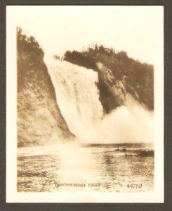 Montmorency Falls. Chute Montmorency.