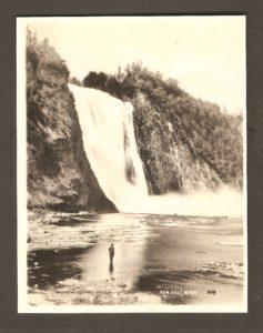 La chute Montmorency.