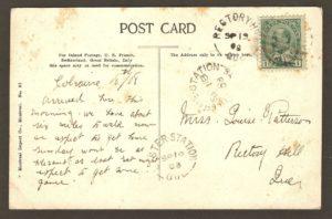 Endos de carte postale : bébé cerf de Virginie au zoo Holt Renfrew, site de la chute Montmorency.