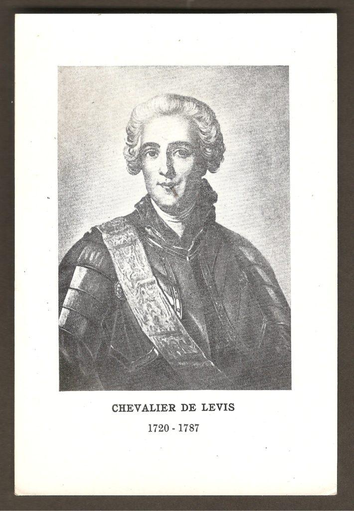 Une brève fiche biographique à propos du chevalier de Lévis, le vainqueur de la bataille de Montmorency. Cette bataille est cependant passée sous silence dans la fiche, qui mentionne plutôt la, plus célèbre, bataille de Sainte-Foy de 1760, que François-Gaston de Lévis a également remportée.