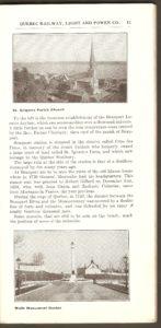 La photo au haut de cette page montre l'église de la paroisse Saint-Grégoire-de-Montmorency.