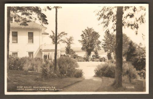 Le coin sud-est du Kent House.